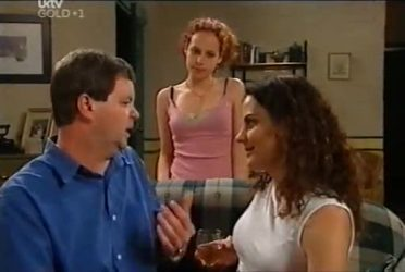 David Bishop, Serena Bishop, Liljana Bishop in Neighbours Episode 4480