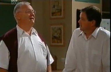 Harold Bishop, David Bishop in Neighbours Episode 4481