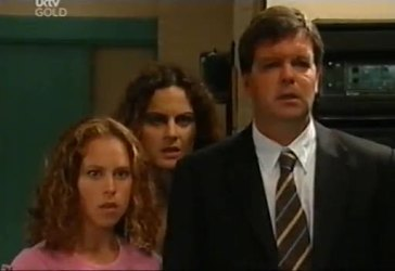 Serena Bishop, Liljana Bishop, David Bishop in Neighbours Episode 4485