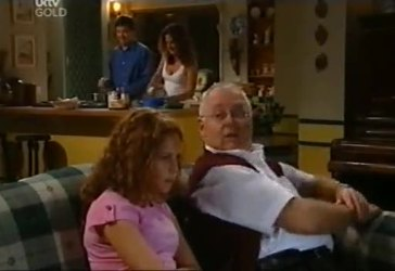 David Bishop, Serena Bishop, Liljana Bishop, Harold Bishop in Neighbours Episode 4485
