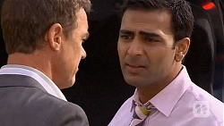 Paul Robinson, Ajay Kapoor in Neighbours Episode 6631