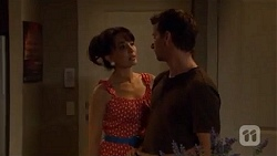 Vanessa Villante, Lucas Fitzgerald in Neighbours Episode 6633