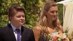 Callum Rebecchi, Georgia Brooks in Neighbours Episode 6633