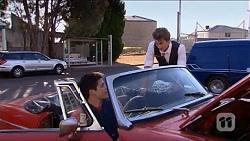 Chris Pappas, Mason Turner in Neighbours Episode 6633