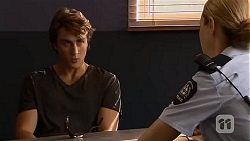 Mason Turner, Snr. Const. Kelly Merolli in Neighbours Episode 6634