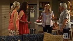 Amber Turner, Kate Ramsay, Lauren Turner, Lou Carpenter in Neighbours Episode 6634