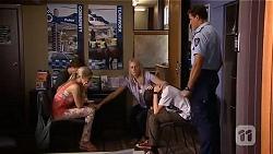 Mason Turner, Amber Turner, Lauren Turner, Bailey Turner, Matt Turner in Neighbours Episode 6634