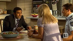 Ajay Kapoor, Lauren Turner, Matt Turner in Neighbours Episode 6635