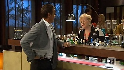 Paul Robinson, Sheila Canning in Neighbours Episode 6635