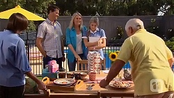 Bailey Turner, Matt Turner, Lauren Turner, Amber Turner, Lou Carpenter in Neighbours Episode 6636