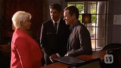 Lucy Robinson, Tony Daley, Paul Robinson in Neighbours Episode 6637