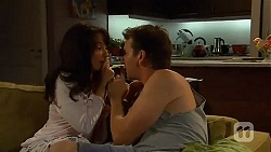 Vanessa Villante, Lucas Fitzgerald in Neighbours Episode 6638