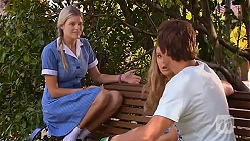 Amber Turner, Georgia Brooks, Kyle Canning in Neighbours Episode 6638