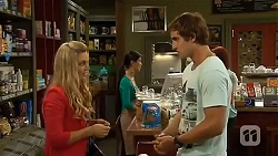 Georgia Brooks, Kyle Canning in Neighbours Episode 6640