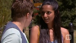Callum Jones, Rani Kapoor in Neighbours Episode 6640