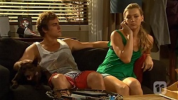 Bossy, Kyle Canning, Georgia Brooks in Neighbours Episode 6641