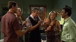 Matt Turner, Lauren Turner, Toadie Rebecchi, Sonya Mitchell, Ajay Kapoor in Neighbours Episode 6641