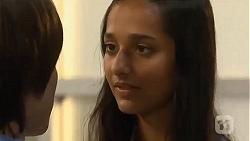 Bailey Turner, Rani Kapoor in Neighbours Episode 6643