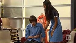 Bailey Turner, Rani Kapoor in Neighbours Episode 6644