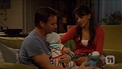 Lucas Fitzgerald, Patrick Villante, Vanessa Villante in Neighbours Episode 6645