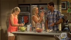 Amber Turner, Lauren Turner, Matt Turner in Neighbours Episode 6646