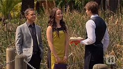 Paul Robinson, Kate Ramsay, Mason Turner in Neighbours Episode 6646