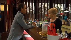 Paul Robinson, Sheila Canning in Neighbours Episode 6646