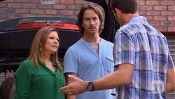 Terese Willis, Brad Willis, Matt Turner in Neighbours Episode 6647