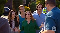 Imogen Willis, Josh Willis, Terese Willis, Brad Willis, Toadie Rebecchi in Neighbours Episode 6647