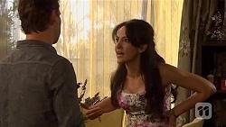 Lucas Fitzgerald, Vanessa Villante in Neighbours Episode 6648