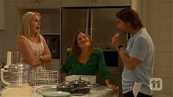 Lauren Turner, Terese Willis, Brad Willis in Neighbours Episode 6648