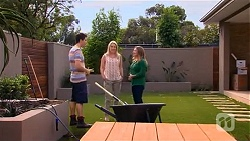 Chris Pappas, Lauren Turner, Terese Willis in Neighbours Episode 6648