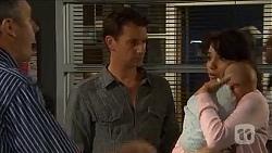 Karl Kennedy, Lucas Fitzgerald, Vanessa Villante, Patrick Villante in Neighbours Episode 6649
