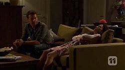 Lucas Fitzgerald, Vanessa Villante in Neighbours Episode 6649