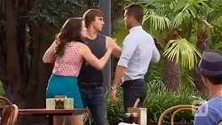 Kate Ramsay, Mason Turner, Mark Brennan in Neighbours Episode 6651