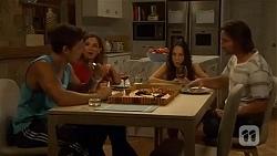 Josh Willis, Terese Willis, Imogen Willis, Brad Willis in Neighbours Episode 6652