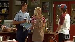 Matt Turner, Lauren Turner, Brad Willis in Neighbours Episode 6652