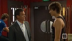 Paul Robinson, Mason Turner in Neighbours Episode 6653