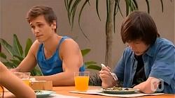 Josh Willis, Bailey Turner in Neighbours Episode 6653