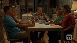 Matt Turner, Lauren Turner, Karl Kennedy, Terese Willis, Brad Willis in Neighbours Episode 6653