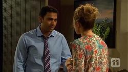 Ajay Kapoor, Sonya Rebecchi in Neighbours Episode 6654