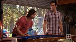 Brad Willis, Matt Turner in Neighbours Episode 6654