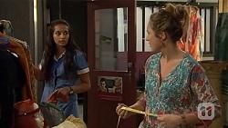 Rani Kapoor, Sonya Rebecchi in Neighbours Episode 6654