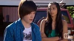 Bailey Turner, Rani Kapoor in Neighbours Episode 6655