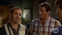 Toadie Rebecchi, Matt Turner, Mason Turner in Neighbours Episode 6655