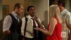 Toadie Rebecchi, Ajay Kapoor, Lauren Turner, Matt Turner in Neighbours Episode 6656