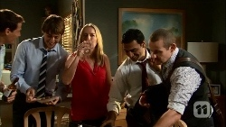 Matt Turner, Mason Turner, Lauren Turner, Ajay Kapoor, Toadie Rebecchi in Neighbours Episode 6656