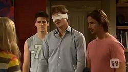 Georgia Brooks, Chris Pappas, Kyle Canning, Brad Willis in Neighbours Episode 6658