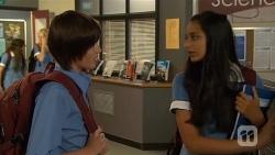 Bailey Turner, Rani Kapoor in Neighbours Episode 6660
