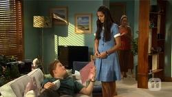 Callum Rebecchi, Rani Kapoor, Sonya Rebecchi in Neighbours Episode 6660